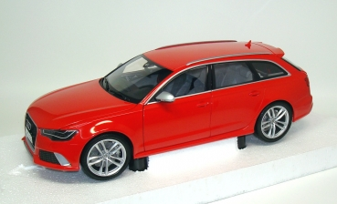 1/18 - AUDI RS6 Avant (C7) 2013 - red - dealer