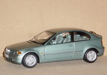 ... für Sammler - 1/18 - BMW 325ti Compact (E46) - grau grün BM18-024439