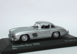 Mercedes-Benz 300 SL Coupe (W198 I) 1955 - silver - 1/43