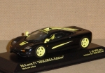 1/43 - McLaren F1 Roadcar - HEKORSA-Edition - black and yellow