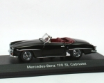 Mercedes-Benz 190 SL (W121) 1955-1963 - black - 1/43