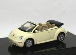 VW New Beetle Cabriolet (2003) - gelb - 1/43