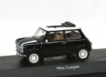Mini Cooper - with Softtop - black - 1/43