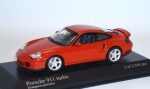 1/43 - Porsche 911 turbo (1999) - orange