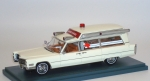 1/43 - Cadillac S&S Ambulance (1966) - white
