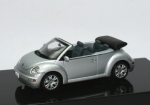 VW New Beetle Cabriolet (2003) - silber - 1/43