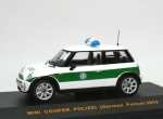 Mini Cooper (R50) POLIZEI - German Police 2002 Bavaria - 1/43