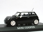 Mini Cooper (R50) - black - white top - 1/43