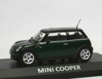 Mini Cooper (R50) - british racing green met. - black top - 1/43