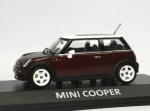 Mini Cooper (R50) - red met. - white top - 1/43