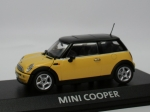 Mini Cooper (R50) - yellow - black top - 1/43