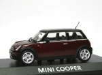 Mini Cooper (R50) - red met. - black top - 1/43